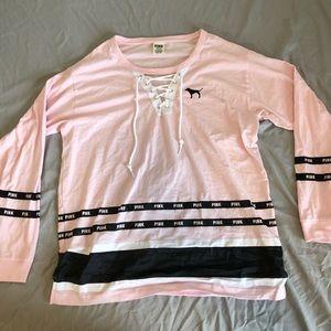 New! PINK! long sleeve shirt